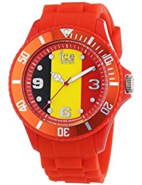 Ice-Watch - ICE world Belgium - Rote Herrenuhr mit Silikonarmband - 000570 (Small)
