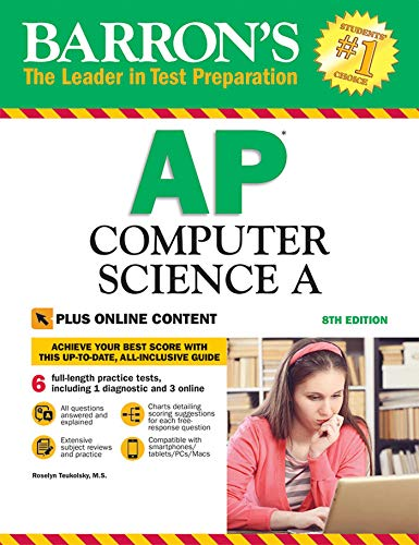 Ap-serie (Barron's AP Computer Science A with Online Tests)