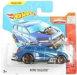 Hot Wheels HW Race 153/250 Blue Nitro Tailgater on Short Card by Hot Wheels