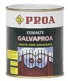 Proa. Esmalte directo sobre galvanizado Galvaproa, Verde inglés RAL 6009. 750 ML