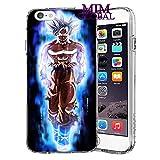 MIM Global Dragon Ball Z Super GT Etuis Coque Case Cover Compatible pour Tous iPhone (iPhone XS Max, UI)