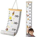 Hifot Bambini Altezza Crescita Grafico misurazione, Metro da parete Righelli per bambini Ragazze Arredamento della camera