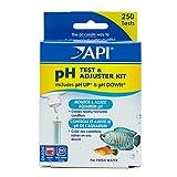 API Aquarium Freshwater pH Test and Adjuster Kit, Pack of 250