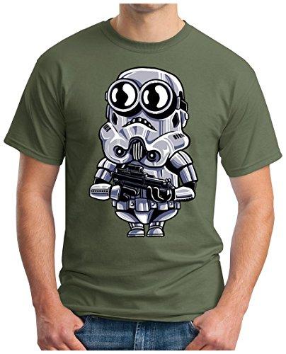 OM3 - MINI-TROOPER - T-Shirt, S - 5XL Oliv
