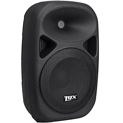 LyxPro SPA-8 Portable PA System 100-Watt (RMS Power) Active Speaker, Onboard Equalizer, Bluetooth, SD Card Slot, USB, MP3, XLR, 1/4
