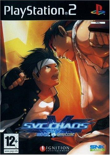 SNK VS CAPCOM - PS2 - Complete promotional version