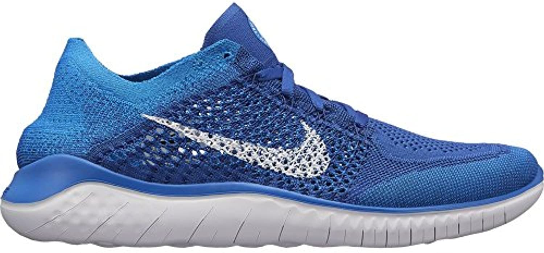 Nike Free RN Flyknit 2018Game Royal bianca bianca bianca Photo blu¨C8   Prezzo economico  9f6136