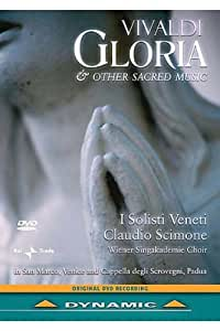 Vivaldi - Gloria & Other Sacred Music (DVD NTSC)