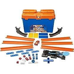 Hot Wheels - Caja de acrobacias track builders (Mattel DWW95)
