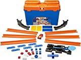 Best Hot Wheels Race Tracks - Hot Wheels Track Builder Stunt Box, Multi Color Review