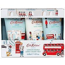 Cath Kidston London People Hand Cream Trio Gift Box Travel Size, 3 x 30ml ,FG7489CK
