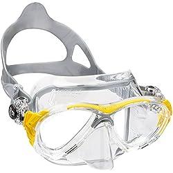 Cressi - Eyes Evo Crystal, color transparente,amarillo