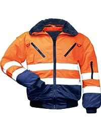 Safestyle Veste de travail EN471 Classe 3 Plusieurs couleurs disponibles, orange