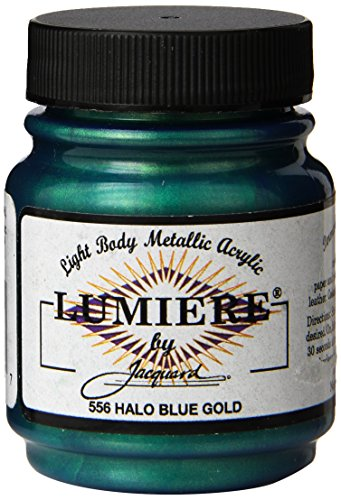 jacquard-products-225-oz-lumiere-metallic-acrylic-paint-halo-blue-gold