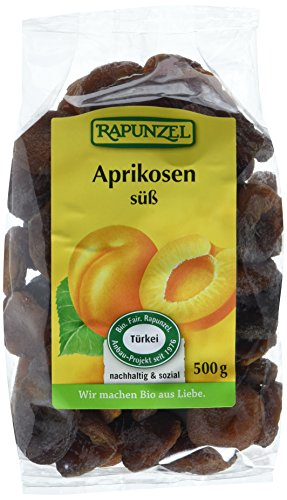 Rapunzel Aprikosen ganz süß, Projekt, 8er Pack (8 x 500 g)