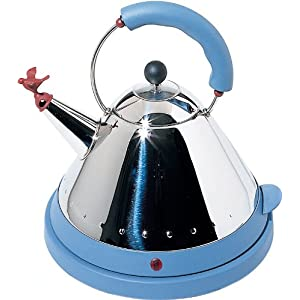 Alessi MG32 AZ/UK 1.5 Litre Cordless Electric Kettle