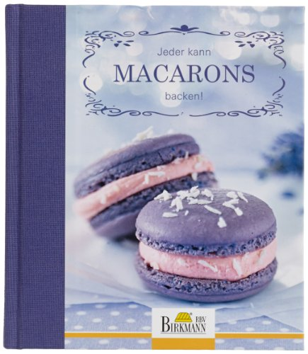 Birkmann 707009 Macaron Buch - Jeder kann Macarons backen!