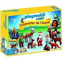 Playmobil 5497–Calendrier de l'Avent 1.2.3Forêt de Noël