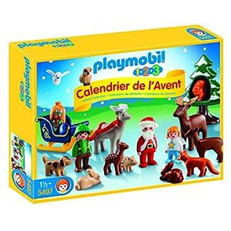 PLAYMOBIL 5497–Calendario de Adviento 1.2.3Bosque Navidad