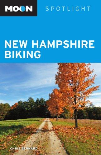 Moon Spotlight New Hampshire Biking por Chris Bernard