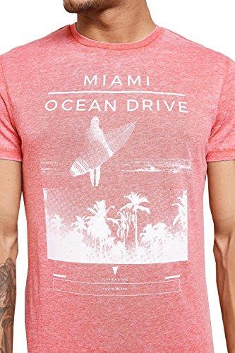 Threadbare -  T-shirt - Camicia - Uomo Paprika Red