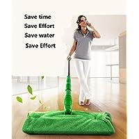Outils de nettoyage de ménage de balai d'acier inoxydable de vadrouille de Mop Mains-libres à balai