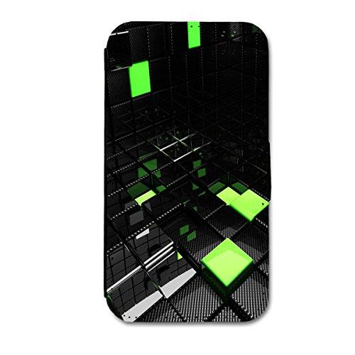 Book Style Flip Handy Tasche Case Schutz Hülle Schale Motiv Etui für Apple iPhone 4 / 4S - A21 Design2 Design 4