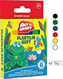 Botes de plastilina de{6} coloures 90g. Set ArtBerry EK-33297