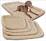 Godess4 Lamm-Samt-Haustier-Matte Hundekissen Zwinger Haustier Nest Katzenstreu Soft Hundebett Matte Anti-Rutsch-Matratze Grau (5 Größen), XL