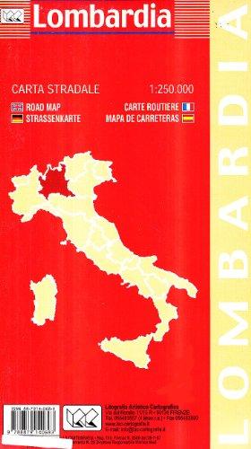 Lombardia 1:250.000 (Carte stradali)