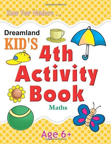 4th Activity Book – Maths (Kid's Activity Books)