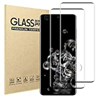 [2 Pack]Samsung Galaxy S20 Ultra Screen Protector,9H Hardness Anti-scratch Tempered Glass Screen Protective Film for Samsung Galaxy S20 Ultra