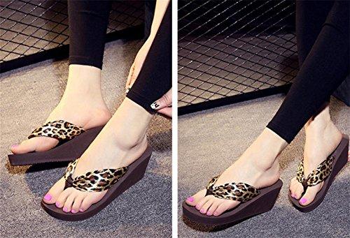 pengweiForme sandali pantofole sandali pendenza inferiore spessa con scarpe da spiaggia 3
