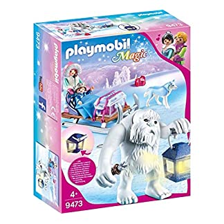 PLAYMOBIL Magic Trol de Nieve con Trineo