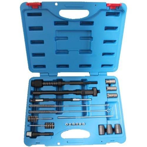Injektoren reinigen Werkzeug Injektor Dichtsitz Reiniger Fräser Set Bosch + Delphi