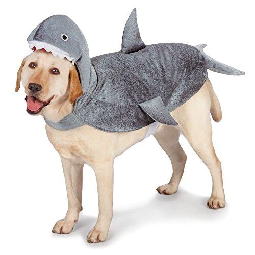 Kostüm Pet Hai - Lässiges Hundekostüm Hai, für Hunde, 51 cm, Größe L