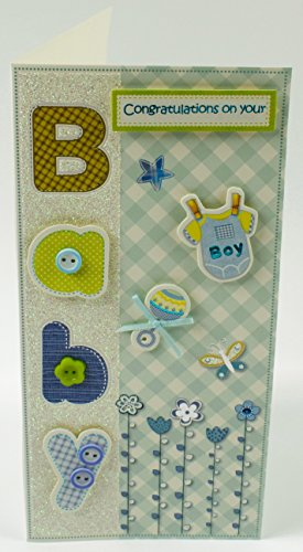 Baby Boy Geld Wallet Geschenk 3D Design Celebration Neugeborene Eltern für Ihn
