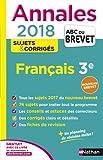 Annales Français 3e : Sujets & corrigés
