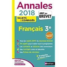 Annales ABC du Brevet Français 2018