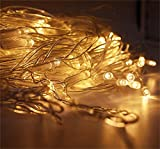 REDOI Christmas Flash Network Fairy Tale Series Lamp Wedding 8 Flash Mode Controller wasserdicht (warm White) 868 LED 6 * 4 M