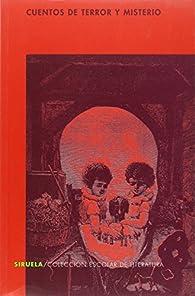Cuentos de terror y misterio par Edgar Allan Poe