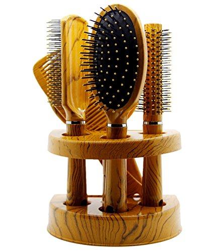 nuovo-pc-unisex-specchio-spazzola-per-capelli-pettine-set-da-viaggio-donna-confezione-regalo-yellow-