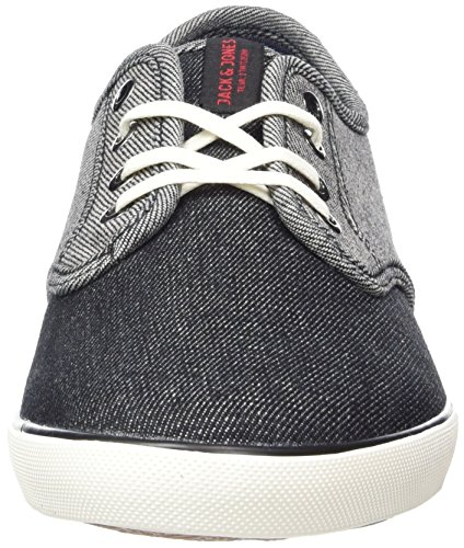 Jack & Jones Jfwtack Denim Mix Anthracite, Sneakers Basses Homme Gris (Anthracite)