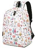 Schule Schultasche für Mädchen, niedliche Wasserabweisende Laptop-Rucksack College Staubbeutel