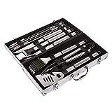 GRILL & MORE Essentials, Grillset 10-teilig im Koffer