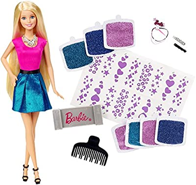 Barbie - Mechas purpurina (Mattel CLG18)
