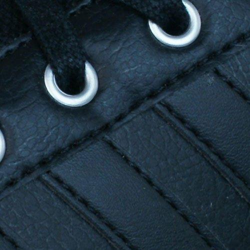 adidas Neo Cacity baskets en cuir hommes Black