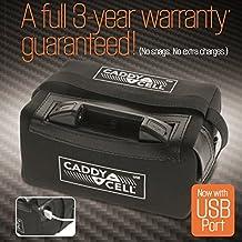 Caddy Cell litio batería para carrito de golf + Funda Cargador de minas & 3años de garantía