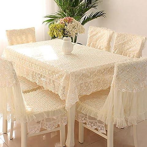 Semplice, moderno e ricamo Tovaglia per tavoli, tavolino da caffè, da Poltrona cuscino gigante con tema pastorale roundtable lace tablecloths, Cotone, Bohemia - Purple sequins, 1 +1 backrest cushion