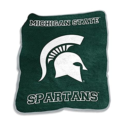 NCAA Michigan State Spartans Mascot Throw, Green, Adult